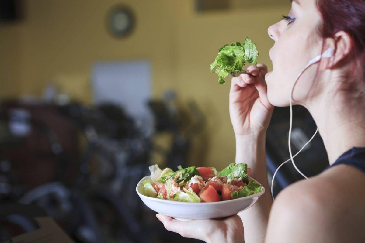 Comer após o treino