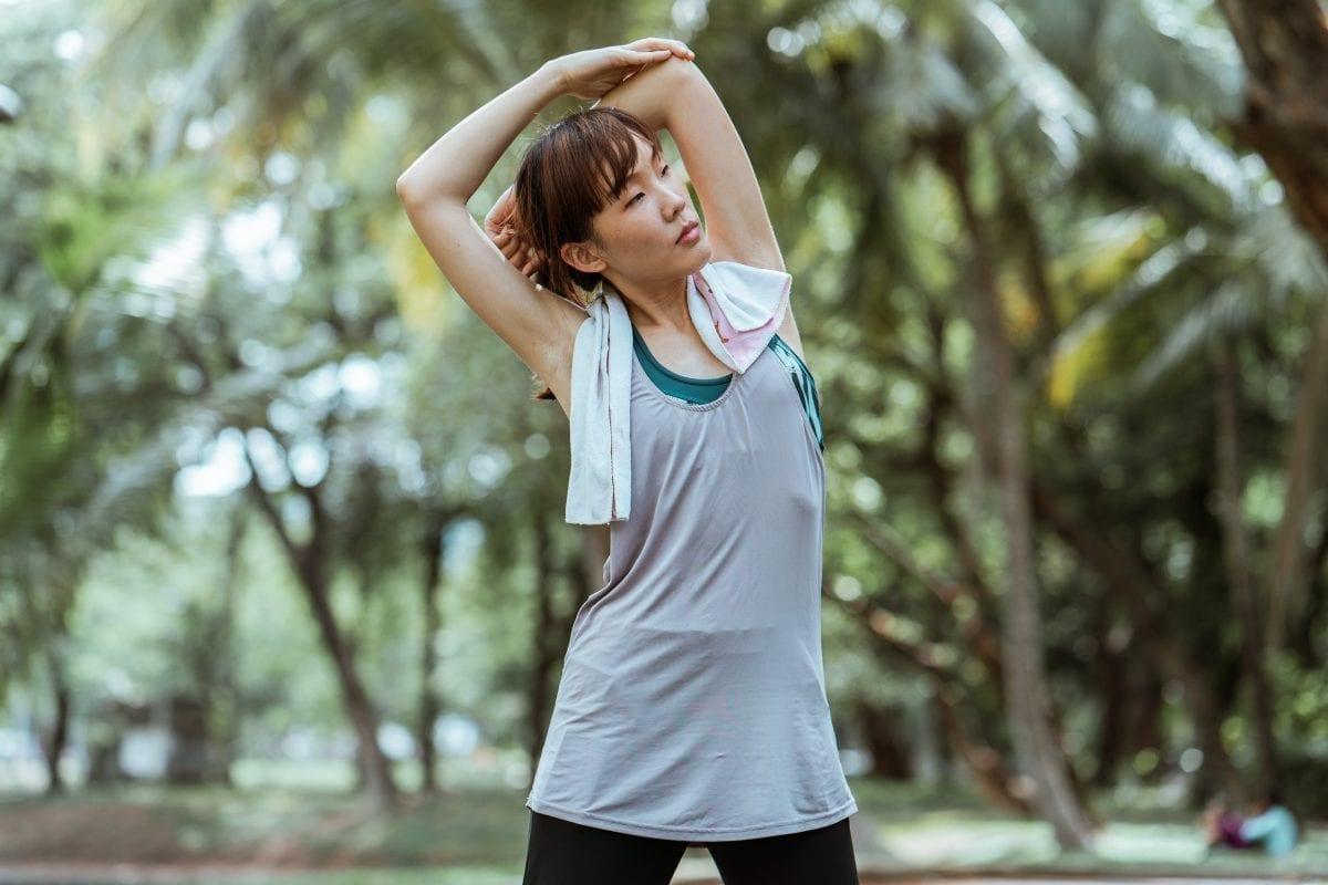 Pessoa fazendo exercício físico para combater a ansiedade