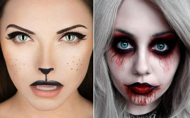 pls halloween makeups