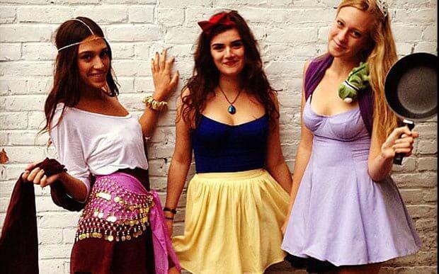 pls halloween princesas